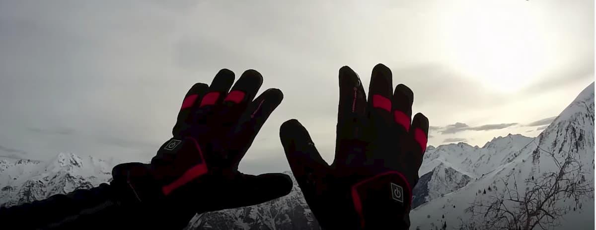 guantes calefactables esquí