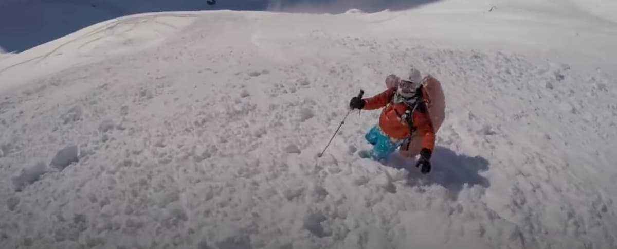 mochila abs esqui