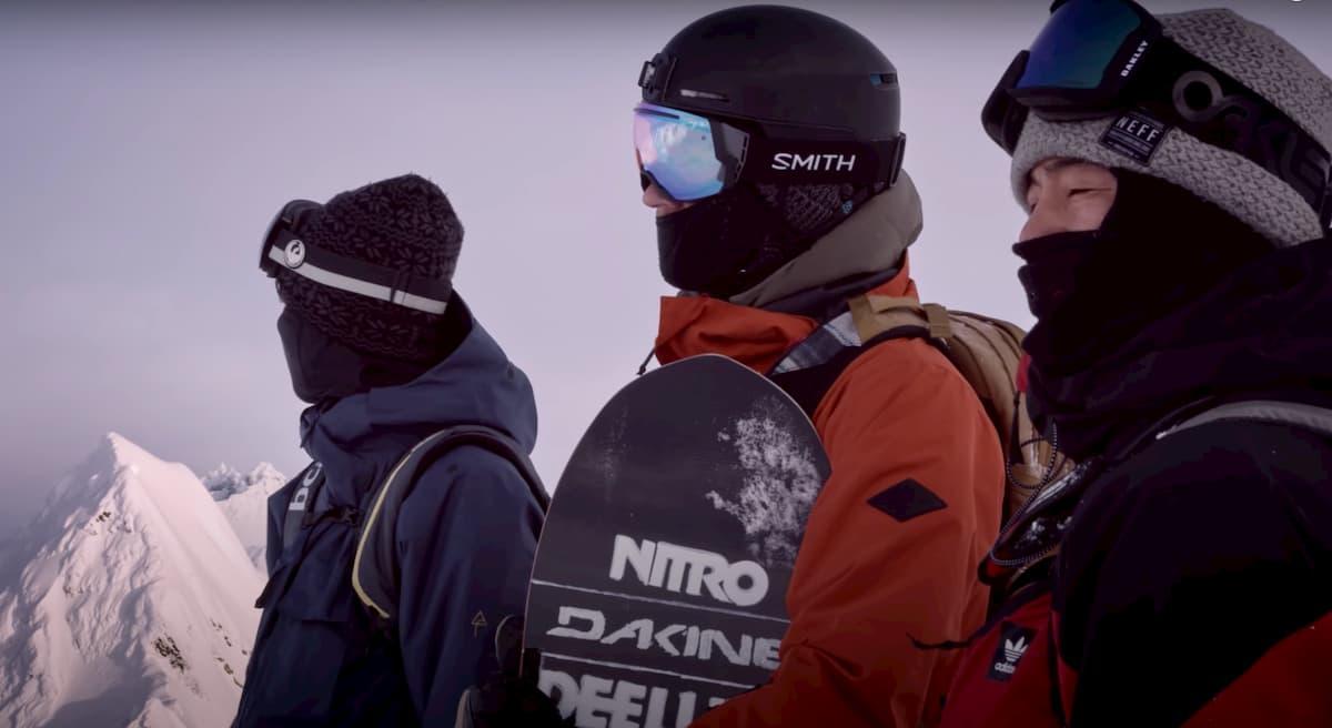 mascaras snowboard